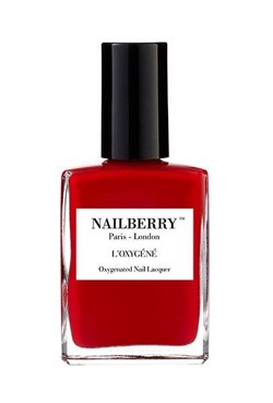 NAILBERRY Neglelak - Nailpolish L´OXYGÉNÉ, Rouge