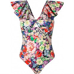 Notes Du Nord Badedragt - Paradise Ruffle Swimsuit, Wild Flower