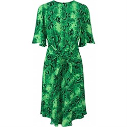 NOTES DU NORD Nederdel - PACIFIC SHORT DRESS, Green Snake