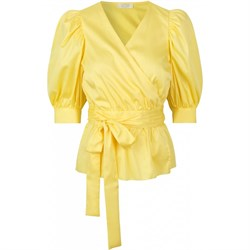 NOTES DU NORD bluse - Pollie Top, Lemon