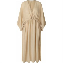 NOTES DU NORD kjole - TAMIA DRESS,  Beige