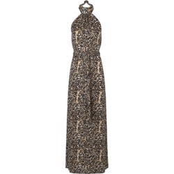 NOTES DU NORD kjole - Hope Long Dress, Leopard