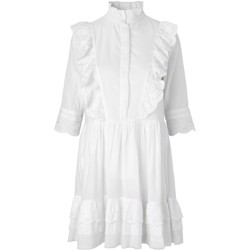 NOTES DU NORD kjole - Hillary Dress, White