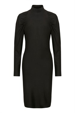 Gestuz Kjole - RifaGZ Slim Dress, Black