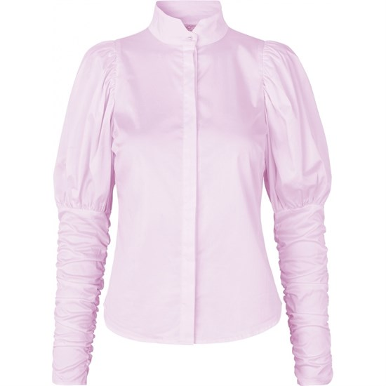 NOTES DU NORD bluse - Nila Shirt, Soft Pink