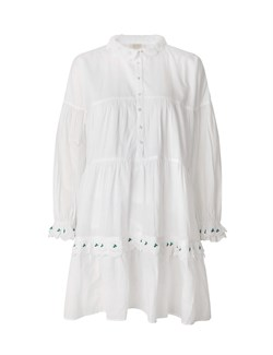 NOTES DU NORD Kjole - TENNA DRESS, White