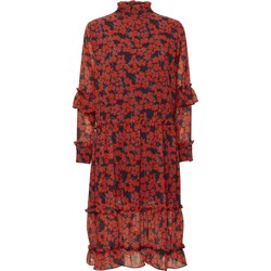 NORR kjole - Dagma Medi Dress, Red Flower
