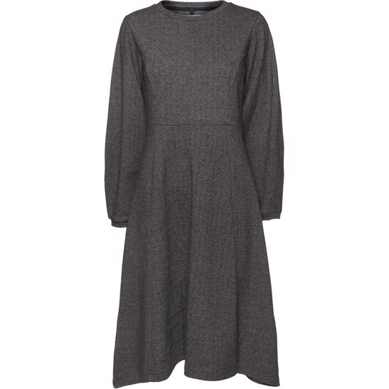 NORR kjole - Toni DRess, Light Grey Melange