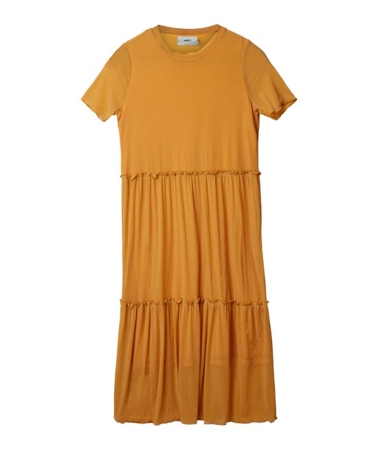 Moves By Minimum Kjole - Nakki dress, Buff Yellow