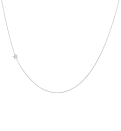 Anna+Nina Halskæde - Stellar Necklace Long, Silver