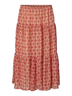 Lollys Laundry Nederdel - Morning Skirt, Red