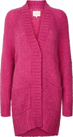 Lollys Laundry strik - Carrie Cardigan, Pink