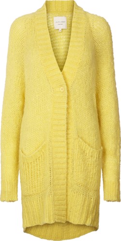 Lollys Laundry strik - Carrie Cardigan, Yellow