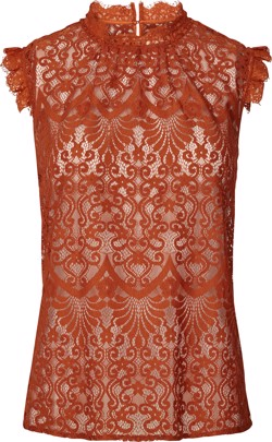 Lollys Laundry Top - Dea Top, Rust