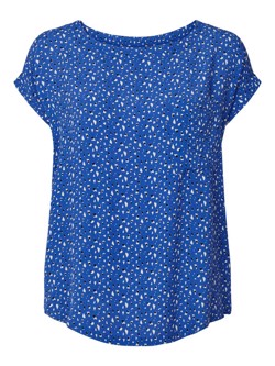 Lollys Laundry Bluse - Krystal Top, Blue