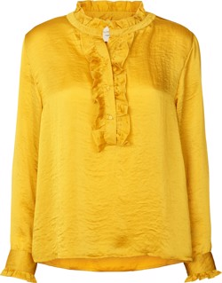 Lollys Laundry skjorte - Franka Shirt, Yellow
