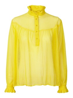 Lollys Laundry skjorte - Delora shirt, Yellow