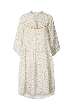 Lollys Laundry Kjole - FELINE DRESS, Creme