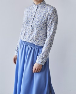 Moves By Minimum Bluse - Christianne Blouse, Alaskan Blue