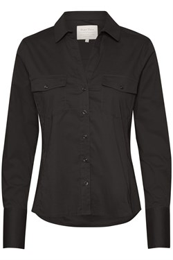 Part Two skjorte - EdmaPW Shirt, Black