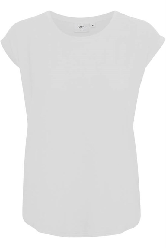 Saint Tropez, AdeliaSZ T-Shirt, Bright White