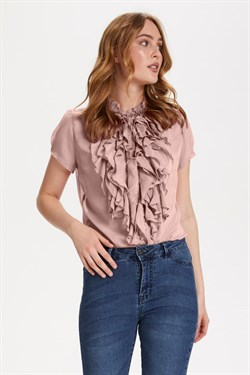 Saint Tropez Top - LillySZ SS Shirt, Rose
