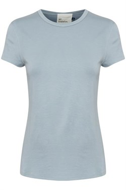 Denim Hunter T-shirt - The Modal Tee, Cashmere blue