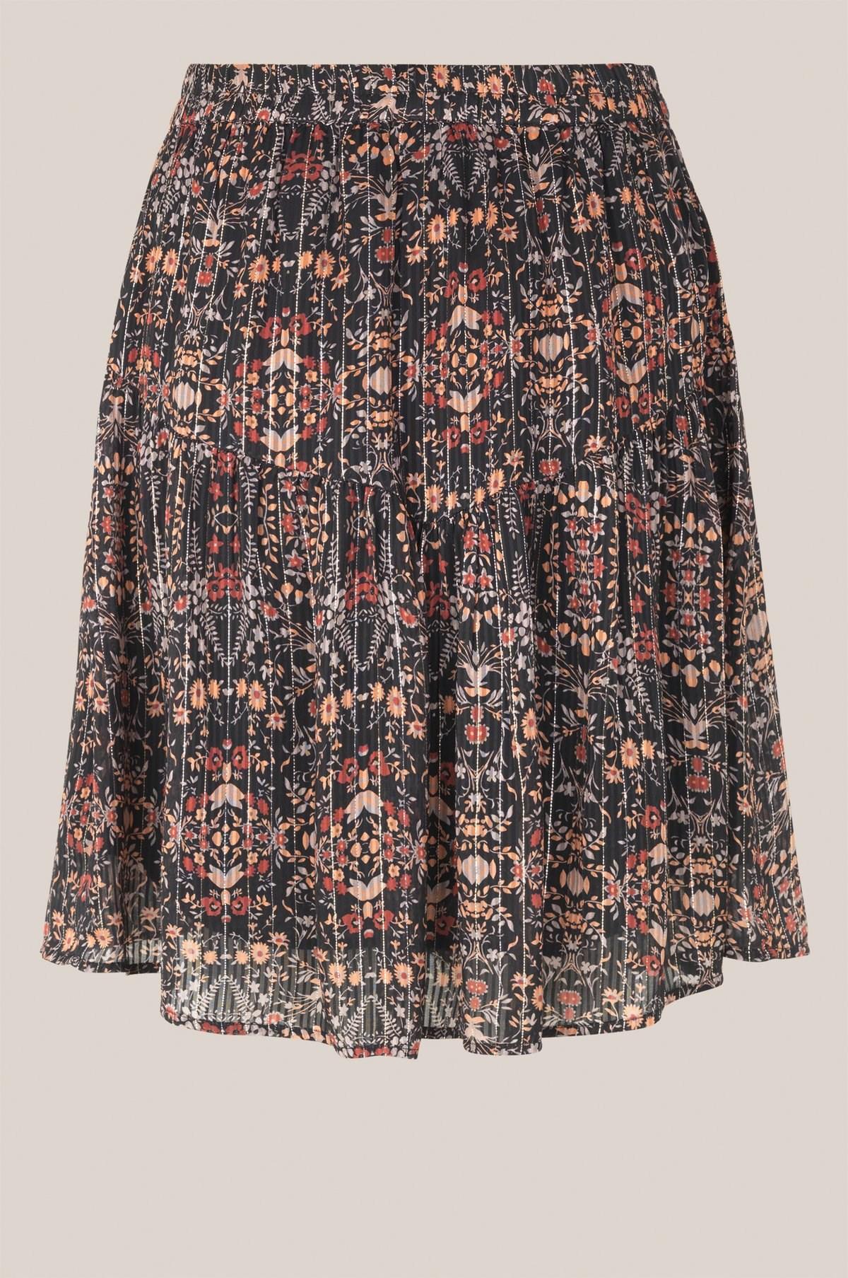 Second Female nederdel Signe MW Skirt, Black