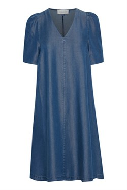 Denim Hunter Kjole - DHLouisa Dress, Dark Blue wash