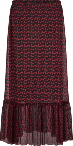 Just Female Nederdel - Alley maxi skirt, Tiny Rose Aop