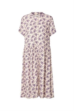 Lollys Laundry Kjole - Aliya Dress, Creme