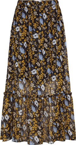 Just Female Nederdel - Antonin Maxi skirt, Corn Flower Yellow