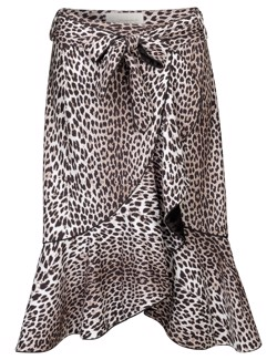 NOTES DU NORD Nederdel - Ashlee Skirt, Leopard