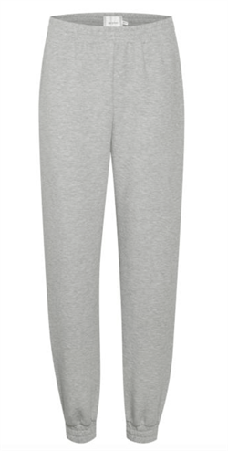 Gestuz Sweatpants - ChrisdaGZ MEL Sweatpants, Light Grey Melange
