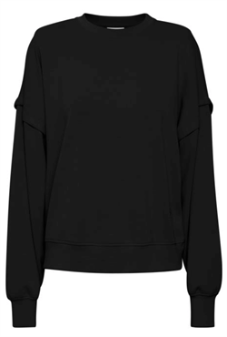Gestuz Sweat - ChrisdaGZ MEL sweatshirt, Black