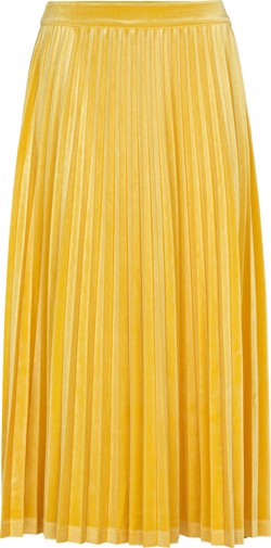 Just Female Nederdel - Clara velvet skirt, Spectra Yellow