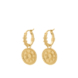 Anna+Nina Ørering - Cleopatra ring  Earrings, Goldplated