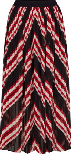 Just Female Nederdel - Coline Maxi skirt, Red Stripe