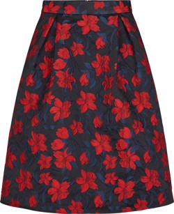 Just Female Nederdel - Cyril Skirt - Jaquard Flower