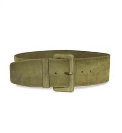 Denim Hunter Bælte - DHLeather Belt, Forest Night