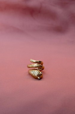 Joseph cph ring - Nero ring, gold