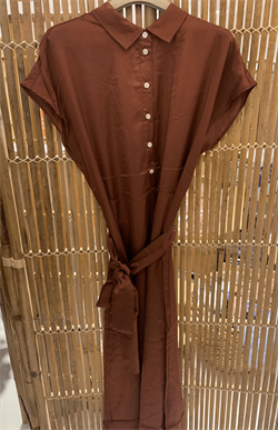 InWear Kjole - DitaPW Dress, Chocolate Glaze
