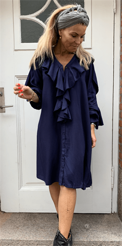 Karen By Simonsen Kjole - DrawKB Dress, Navy Blazer