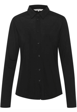 Part Two Bluse - ErlePW Shirt, Black