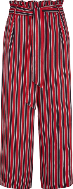 Just Female Bukser - Fanny Trousers, Red Stripe