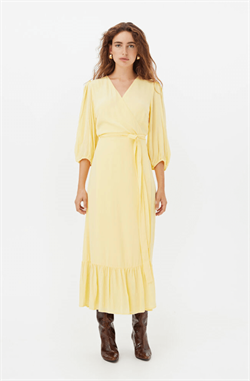 Gestuz Kjole - UrielGZ Wrap Dress, Golden Haze