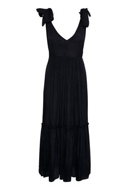 Gestuz Kjole - Jazy Long Dress, Black