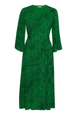 Gestuz Kjole - Loui dress, Green Leopard