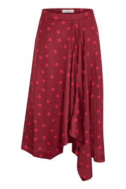 Gestuz Nederdel - Elsie skirt, Biking Red/Red Dot