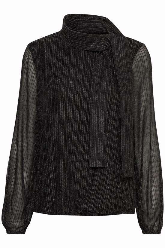 Gestuz Bluse - Luretta Blouse, Black